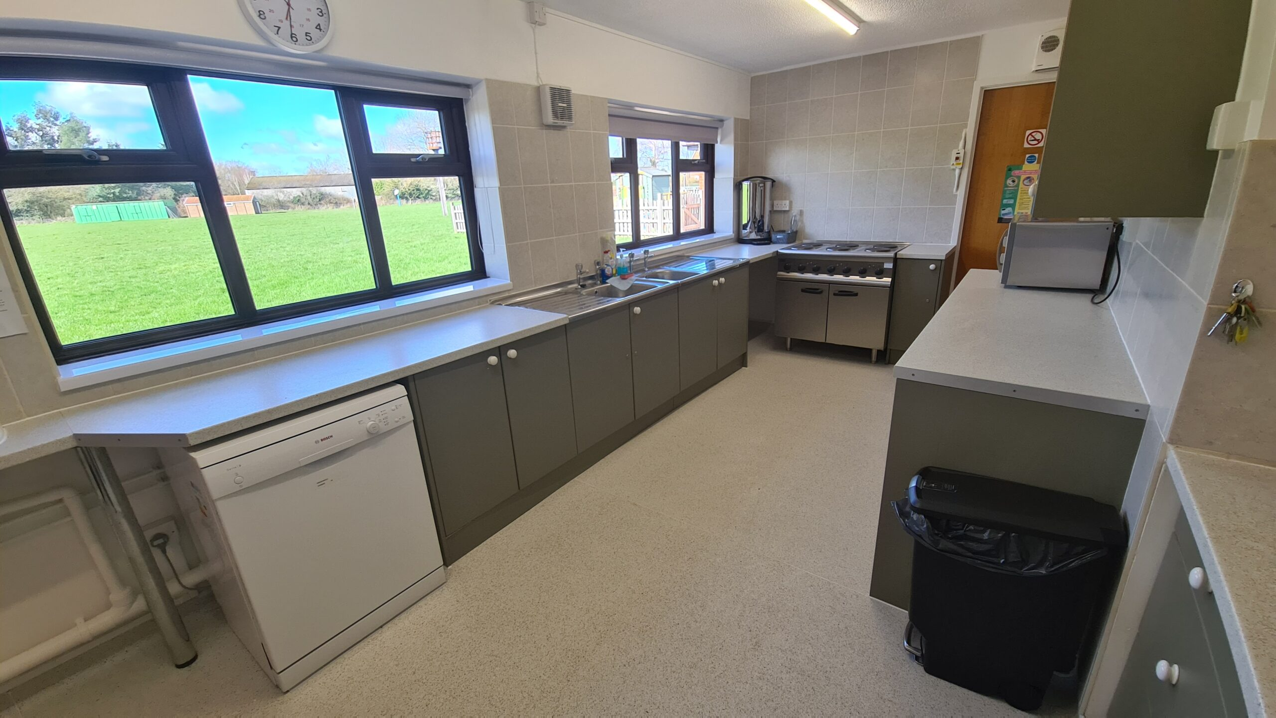 The Kitchen from hatch end